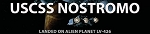 USCSS NOSTROMO LABEL DECAL FOR MODEL BASE by HDAmodelworx