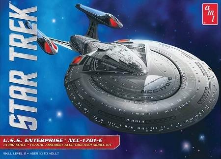 STAR TREK: USS ENTERPRISE NCC-1701-E 1400 Scale Model Kit