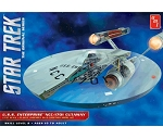 Classic Star Trek TOS USS Enterprise NCC-1701 CUTAWAY 537 Scale Model Kit