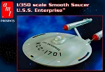 USS ENTERPRISE  NCC-1701 1:350 SCALE SMOOTH SAUCER ACCESSORY PARTS