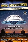 UFO Encounters Monument Valley UFO Clear Edition Model Kit by Atlantis Models