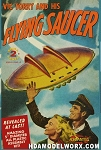 Vic Torry and his Flying Saucer UFO 5 inch series with Light Model Kit by Atlantis Models