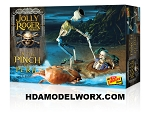Jolly Roger Series:  Jolly Roger Series: : In the Pinch of Peril 1:12th SCALE Model Kit by Lindberg