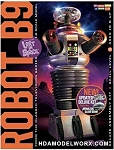 LOST IN SPACE: ROBOT B9 DELUXE KIT FEATURING GLASS DOME 1:6 Scale Model Kit