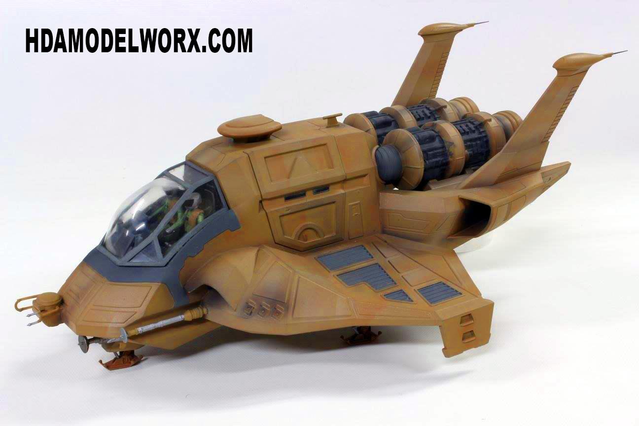 Armament Set für Battlestar Galactica Colonial Raptor 1:32 Model Kit Moebius 968