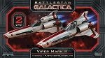 BATTLESTAR GALACTICA VIPER MARK II 1:72 SCALE MODEL KIT.  Includes 2 complete kits.