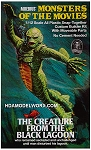 MONSTERS OF THE MOVIES the Creature From The Black Lagoon 1/12th Scale Model Kit from Moebius Models