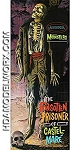 Aurora Famous Monsters Forgotten Prisoner of Castel-Mare 1/10th Scale Model Kit from Moebius Models