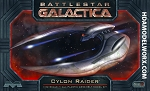 BATTLESTAR GALACTICA CYLON RAIDER 1:32 SCALE MODEL KIT by Moebius Models