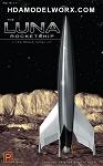 The LUNA ROCKETSHIP 1/144 Scale Model Kit by Pegasus Hobbies