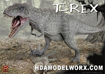 T-REX Tyrant Lizard King 1/24th scale Model Kit by Pegasus Hobbies
