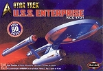 STAR TREK: TOS USS ENTERPRISE NCC-1701 1000 Scale Model Kit ORIGINAL POLAR LIGHTS EDITION