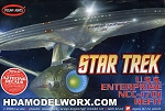 Star Trek USS ENTERPRISE NCC-1701 REFIT 1:1000 SCALE Model Kit by Polar Lights