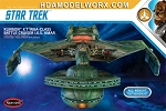 Star Trek KLINGON BATTLE CRUISER 350 Scale Model Kit by Polar Lights