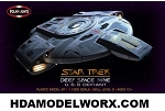 Star Trek Deep Space Nine USS Defiant NX-74205 1:1000 Scale Model Kit  COMING SOON! EXPECTED APRIL 2018 RELEASE