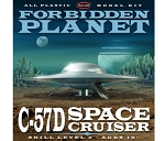 Forbidden Planet C-57D Space Cruiser Model Kit