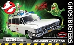 GHOSTBUSTERS ECTO-1 WITH SLIMER 1/25 Scale Model Kit by POLAR LIGHTS