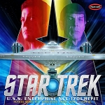 STAR TREK U.S.S. ENTERPRISE REFIT 1:350 SCALE MODEL KIT BY POLAR LIGHTS