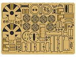 YT-1300 Millennium Falcon detail set for the Bandai 144 Scale Model Kit by GREEN STRAWBERRY
