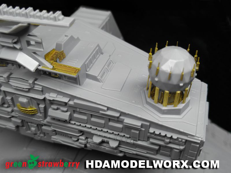 Photoetch Set For The Revell Germanyusa Star Wars At Act 1160