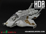 Exterior Photoetch set for the Moebius Models Battlestar Galactica Raptor model kit by GREEN STRAWBERRY   COMING SOON!