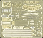 1:1000 Scale Refit Enterprise Photoetch Set by Paragrafix