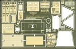 The Lost in Space Space Pod Photoetch and Decal Set by Paragrafix for Moebius Models kit 901
