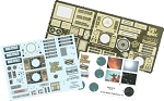 Jupiter 2 Photoetch and Decal Set by Paragrafix for Moebius Models kit 913