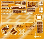 Ecto-1A Photoetch Set for the 1:25 scale model kit from AMT
