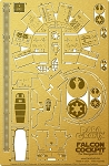 Falcon Cockpit for DeAgostini Kit Issues 1-7 Photoetch and Decal Set by Paragrafix