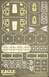 Space: 1999 Eagle Photoetch Set for MPC791 Model Kit