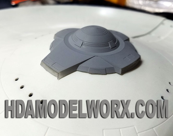 350 SCALE PLANETARY SENSOR RESIN CAST REPLACEMENT PART by HDAMODELWORX