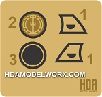 350 SCALE REFIT/A BRIDGE REPLACEMENT PART PHOTOETCH SET by HDAMODELWORX