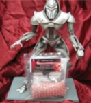 BATTLESTAR GALACTICA Cylon Centurion Moving Eye and Weapons Kit by TENACONTROLS