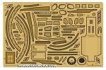 USS SHENZHOU NCC-1227 Photo Etch Detail Set for the Polar LIGHTS 1/2500 Scale Model Kit by GREEN STRAWBERRY