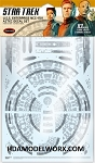 Star Trek  Discovery USS ENTERPRISE NCC-1701 AZTEC DECAL SET for the  1:1000 Scale model kits from Polar Lights