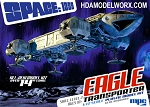 SPACE:1999 EAGLE-1 TRANSPORTER 1:72 Scale NEW TOOL Model kit by MPC