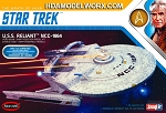 Star Trek USS RELIANT NCC-1864 THE WRATH OF KHAN BATTLE DAMAGE EDITION 1:1000 SCALE Model Kit by Polar Lights