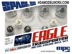 SPACE:1999 EAGLE-1 TRANSPORTER Premium Replacement Metal & Plastic Parts for 14
