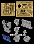 USS DEFIANT NX-74205 Resin and Photoetch detail set for the 1/1000 Scale Polar Lights Model Kit by GREEN STRAWBERRY