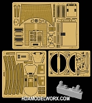 U.S.S. Enterprise NCC-1701-B Photoetch Set for the AMT 1/1000 Scale Model Kit by GREEN STRAWBERRY