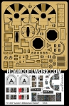 YT-1300 Lando's Millennium Falcon detail set for the Bandai 144 Scale Model Kit by GREEN STRAWBERRY