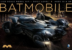 Batman v Superman Batmobile: 1:25 Scale Model Kit