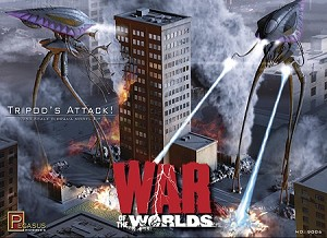 WAR OF THE WORLDS TRIPODS ATTACK Diorama Kit 1/350th scale Model Kit by Pegasus Hobbies COMING SOON! PRE-ORDER LISTING
