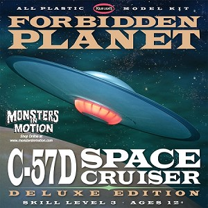 Forbidden Planet C-57D Deluxe Edition Model Kit