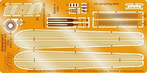 Enterprise E Photoetch Set 1:1400 Scale by Paragrafix for AMT Model Kit