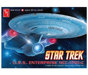 STAR TREK: USS ENTERPRISE NCC-1701-C 1400 Scale Model Kit