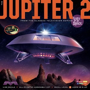LOST IN SPACE: JUPITER 2 50th ANNIVERSARY 1:35 SCALE MODEL KIT