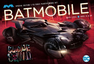 SPECIAL EDITION SUICIDE SQUADE Batmobile: 1:25 Scale Model Kit