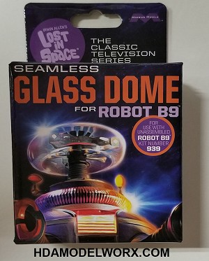 LOST IN SPACE: SEAMLESS GLASS DOME for ROBOT B9